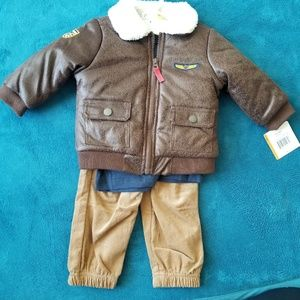 Baby pilot aviation outfit